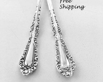"Spoon Bracelet""Plymouth' Spoon Jewelry Valentine Gift Silver Bracelet Handmade Gift Vintage Bracelet Antique Jewelry Recycled Silverware-490"