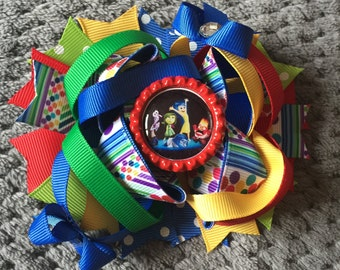 Inside Out Stacked Hair Bow