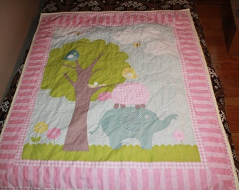 Spring Baby Quilt