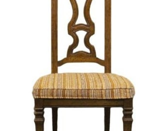 DREXEL HERITAGE Talavera Collection Spanish Revival Splat Back Side Chair 441...