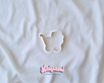 Baby Cookie Cutter, Baby Carriage Cookie Cutter, Baby Stroller Cookie Cutter,  Baby Shower