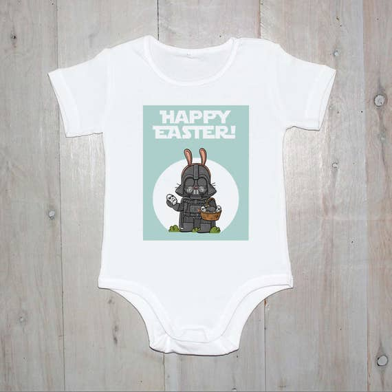 Star Wars Happy Easter Baby Onesie