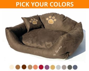 Dog Bed SIMPLY PAWS brown