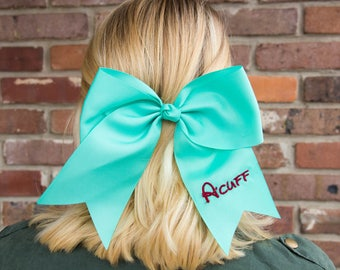 Embroidered Name - Hair Bow Free Shipping!