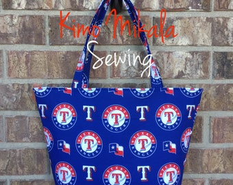 Texas Rangers Baseball Handbag/Shoulder Bag