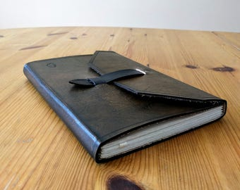 Hand Bound Leather Notebook