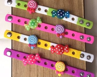Candyland Candy PARTY FAVORS Charm Bracelets