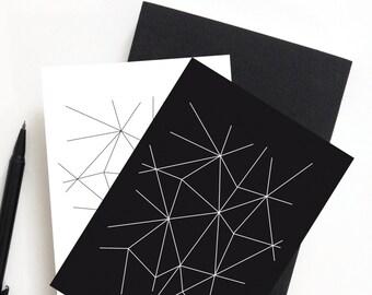 Postkarten-Set LINIEN