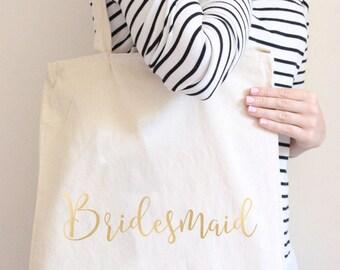 Tote Bag Bridesmaid, Custom Tote Bags, Personalized Tote Bags, Tote bags for Bridal Party, Tote Bag for Bride, Bridesmaid Bags