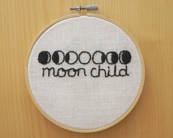 Moon Child Wall Hanging