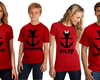 Disney Cruise Family Shirts   Disney Cruise Shirts I Disney Anchor Shirt   Glitter Tank Tops I Disney Cruise Tank I Family Disney Shirts