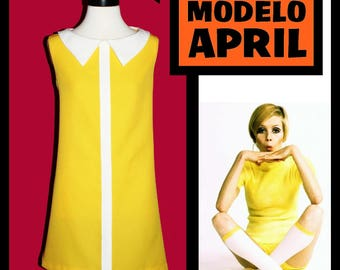 Dress not retro style vintage 60s MOD