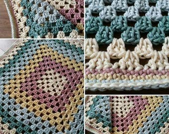 Chunky Cotton Baby Blanket