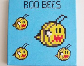 Boo Bee Pixel Art