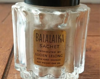 Balalaika Sachet Perfumed Powder by Lucien Lelong