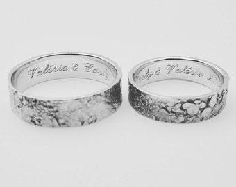 ATITLAN Wedding Rings Silver