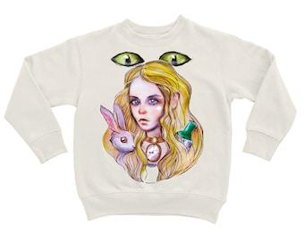 "Sweatshirt ""Alice in Wonderland"""