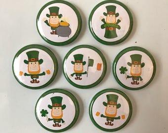 St. Patricks Day Magnets - set of 7