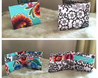 Handmade Oil Cloth Wallet