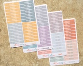 TO DO HEADERS:   2017 Colors   inkWELL Press   A5 Bound Quarterly   Matte Repositionable Planner Stickers   LucKaty  