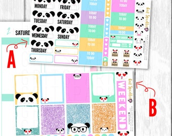september planner stickers, september weekly kit, september 2017, weekly planner stickers, gritsparkles, ready to ship