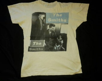 Rare Vintage 80's The Smiths T Shirt.