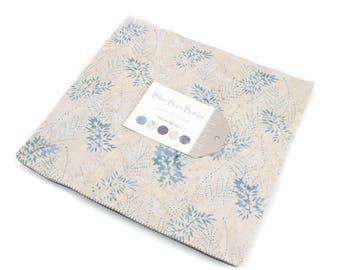 "Moda BLUE BARN BATIKS Layer Cake 42279LC 10"" x 10"" Quilt Fabric Squares"
