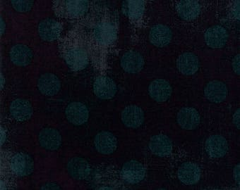 Moda Grunge Hits the Spot Quilt Fabric 1/2 Yard By Basic Grey Black Dress 30149 34