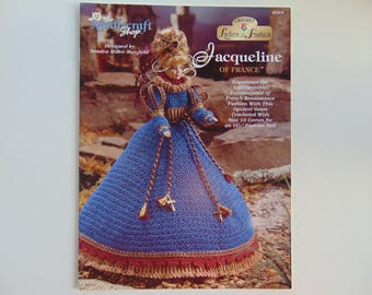 JACQUELINE of FRANCE Needlecraft Shop Crochet Pattern for 11 1/2 inch Fashion Barbie Doll