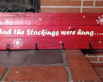 Christmas Stocking Hanger!