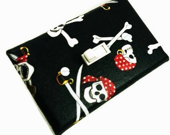 Pirate Decor / Boys Bedroom Decor / Pirate Light Switch Cover