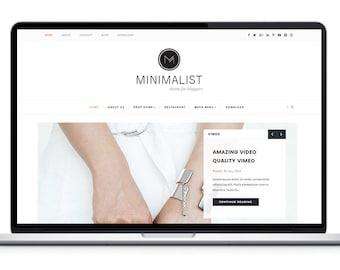 Minimalist - Clean & Responsive Blogger Template