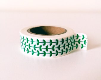 Fresh green washi tape