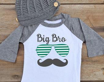Big Brother Shirt - Big Brother Baby Shirt - Big Brother Baby Outfit - Sibling Baby Shirt - Sibling Baby Outfit - Sibling Shirt for Baby