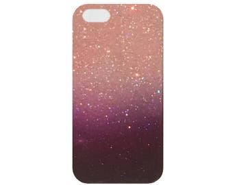 Pink Purple Glitter Ombre iPhone 7 case iPhone 7 plus case iPhone 6 case iPhone6s case iPhone 6 plus case iPhone 6s Plus case iPhone 5 case