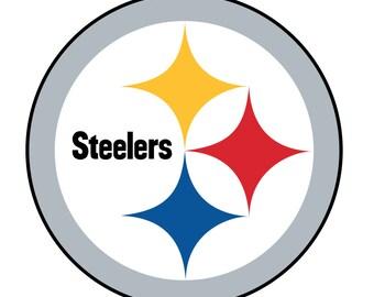 Pittsburgh Steelers Logo Vector Design - Vector Design .Svg, .JPEG Format for Cricut Digital download