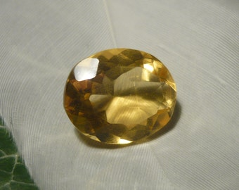 Citrine, 5.3ct Oval Cut