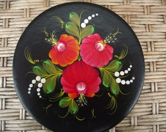 SALE! 30 % off Decorative plate Ukrainian Ethnica gift Hand painted plate Kitchen Ideas Wall decorations Wall art decor Living room