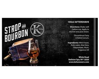 Strop & Bourbon Aftershave