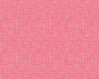 Hashtag Large White on Lipstick - Riley Blake Designs - Pink - Quilting Cotton Fabric - by the yard fat quarter half