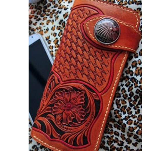 Pdf pattern long wallet leathercraft tools leather craft