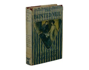 The Painted Veil ~ by W. SOMERSET MAUGHAM ~ First Edition ~ 1st Printing ~ 1925