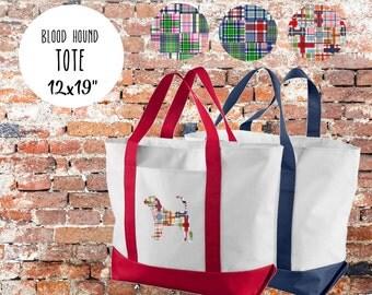 Blood Hound Tote Bag