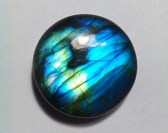 Labradorite Round Shape Cabochon 24 MM