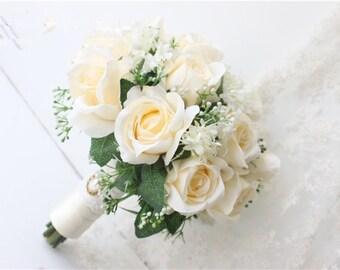 Elegant Handmade Wedding Brooch Bouquets Bridal Bouquet