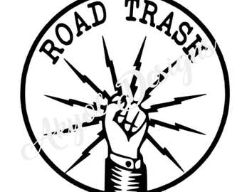 IBEW Road Trash Decal