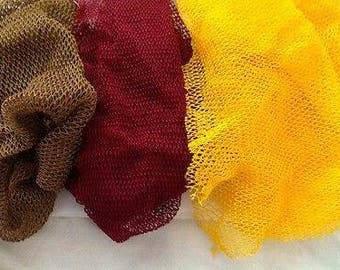 African Exfoliating Body Net/Sponge/ Eponge Fillet/ Dead Skin Remover