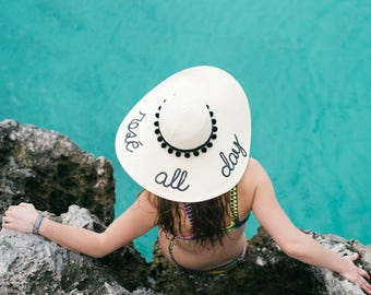Rosé All Day Women's Floppy Sun Hat