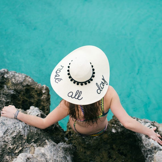 Rose All Day Beach Hat