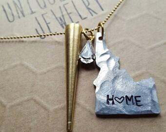 Fierce Idaho Necklace